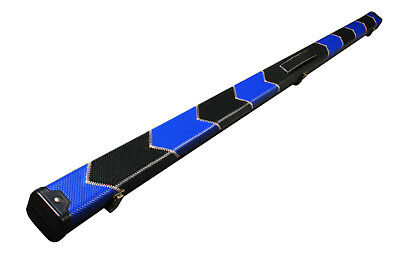 One Piece Patchwork Slimline Snooker Cue Case With Single Slot G61548