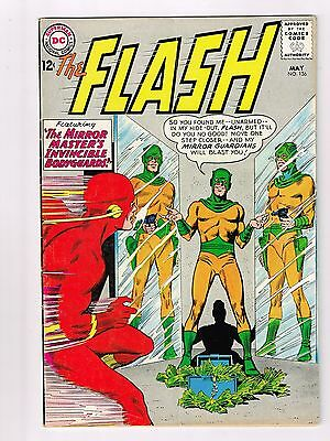 DC The Flash #136 VG / F
