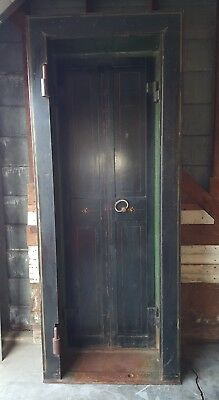 Antique Bank Safe Door Milwaukee Wi 1903 Boston Red Sox Owner George Brumder