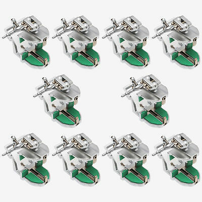 10Pcs A2 Dental Adjustable Magnetic Articulator Dental Lab Equipment For Dentist