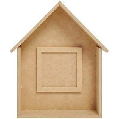 KC - BTP - MDF Small Shadow Box House