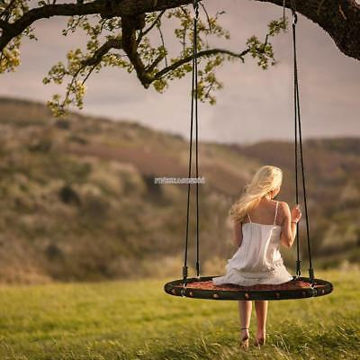 Tree Net Swing Hanging Giant 39 2 Person Outdoor Swing For