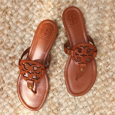 Tory Burch Miller Sandals Women Brown Color Sizes 6, 7, 8, 9