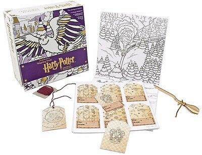Harry Potter Winter at Hogwarts A Magical Colouring Set Brand New 9781406376081