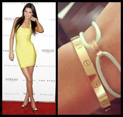 Gorgeous Love Bracelets Bangles Gold/silver Plated .flawless Design Like Cartier