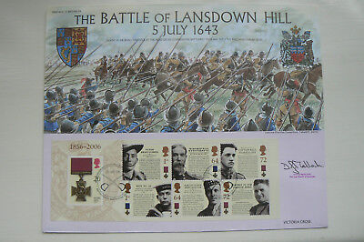 BENHAM HERITAGE OF BRITAIN No 34 SIGNED FDC BATTLE OF LANSDOWN HILL