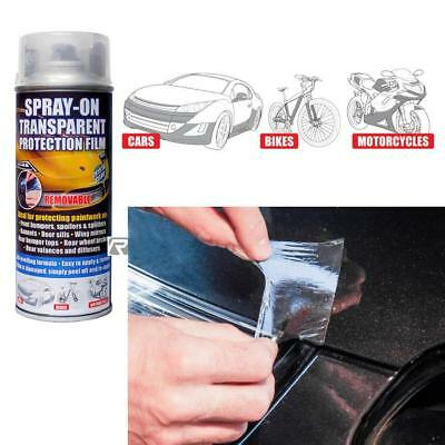E-Tech Spray on Removable Transparent / Clear Protection Film -Cars, Bikes 400ml
