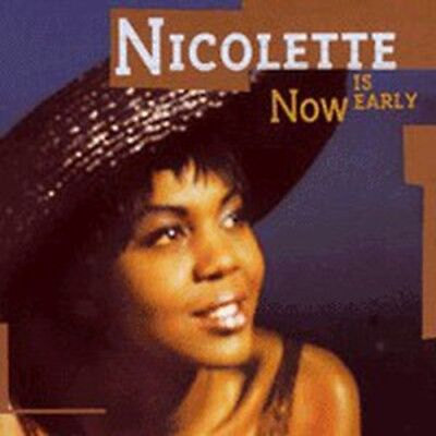 Nicolette - Now Is Early - (Shut Up And Dance Records) - Breakbeat LP