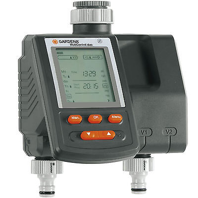 Gardena C 2030 DUO PLUS Dual Output Digital Garden Water Timer