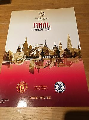 Champions League Final - Moscow 2008 Programme