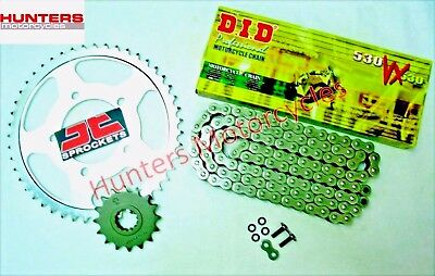 Yamaha FZS600 Fazer 1998 to 2003 DID X-Ring Chain & JT Sprockets Kit Set