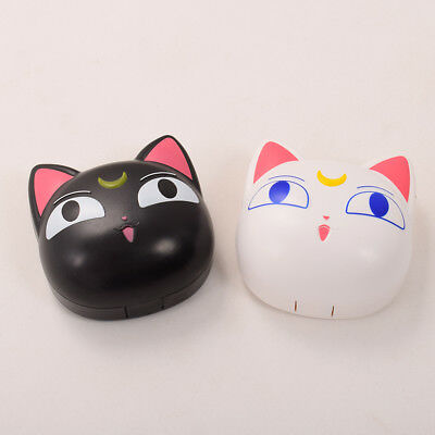 Anime Sailor Moon Cat Luna Plastic Contact Lens Case Cute Cat Contact Lens Box