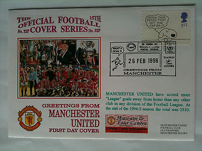 MINT 1996 Manchester United have scored more goals away from home