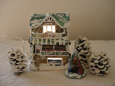 """Vintage  Village House """"COFFEE TIME"""" California Creations"""