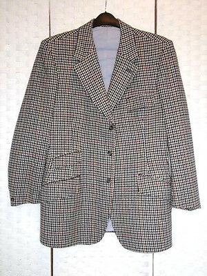 Gents HARRY HALL brown tweed Ideal show,hunt hacking Sz 40 - 42 Quality jacket