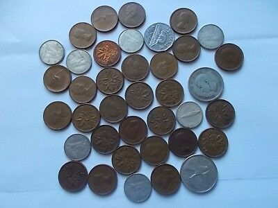 lot of canadian coins