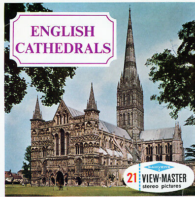 """Sawyer's View-Master """"English Cathedrals"""""""