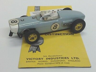 Vintage 1960's VIP VICTORY INDUSTRIES LOTUS R61 BLUE #8 (CHERISHED) STRONG MOTOR