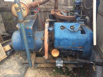 winco 12.5kw generator with wisconsin VH4D engine (1980s)
