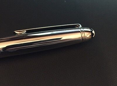Montblanc Meisterstuck Solitaire Stainless Steel Ballpoint Pen