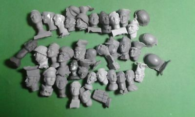 head of soldier scale 1:16 resin kit 120 mm resin kit