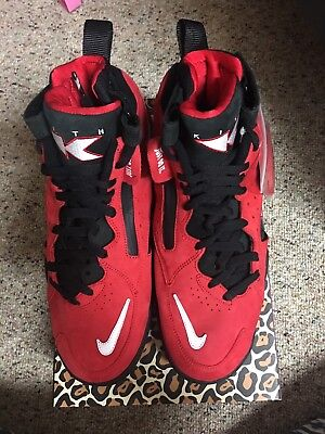 new styles 880c3 02bea Kith X Nike Air Maestro II 2 High Pippen Red Fieg Size 10.5