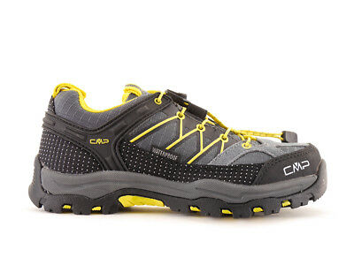 CMP Hiking shoes Trekking shoes grey Waterproof Textile Quick closure