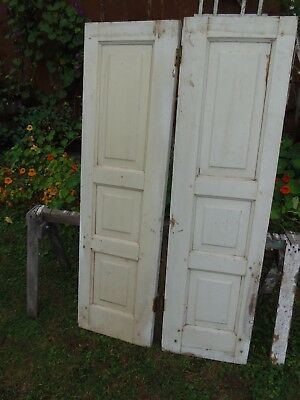 1800's Raised Panel Doors Batten Board Cupboard Window Shutter Doors