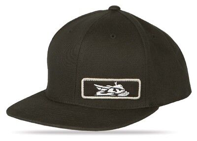 FLY Racing Primary Snap Back Hat Black OS