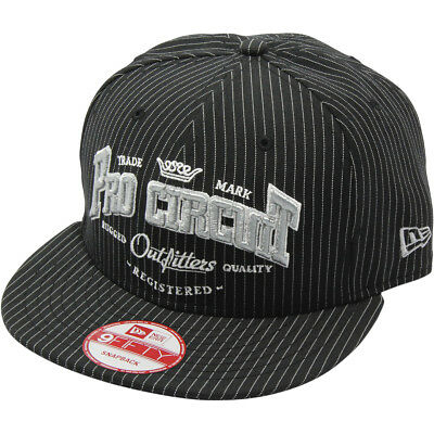Pro Circuit Outfitter New Era Mens Snapback Hat Black OS