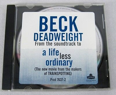 Beck 1997 Deadweight Promo Single CD Lounge Alternative Rock Music NM