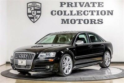 2007 Audi S8 Base Sedan 4-Door 2007 Audi S8 2 Owner Clean Carfax Low Miles Great Condition