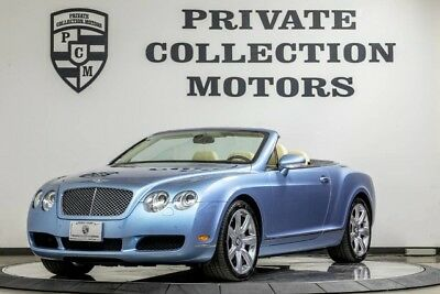2008 Bentley Continental GT GTC Convertible 2-Door 2008 Bentley GTC 26k Original Miles 2 Owner Clean Carfax Well Kept