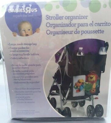 Brand New Stroller Organizer- Mesh Storage Bag For Baby Carriage