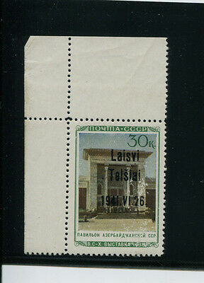 Ithuania Germany Occup Ww2 Telsiai 18 T3 Pfxxii Mnh/mlh   With Krischke Cert
