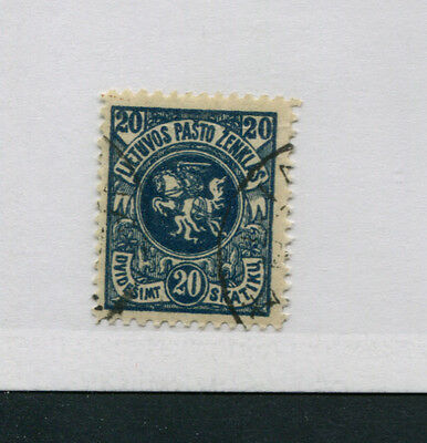 Lithuania   95   Used  Vertical Watermark