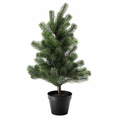 Ikea Fejka Artificial Potted Plant Christmas Tree Height 56 Cm Diameter 12