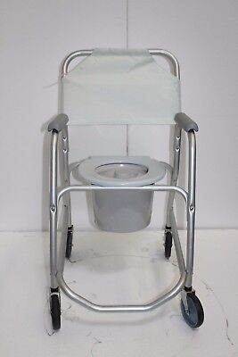 Invacare Mobile Shower Commode Chair Model 6358 Brand New Condition *****