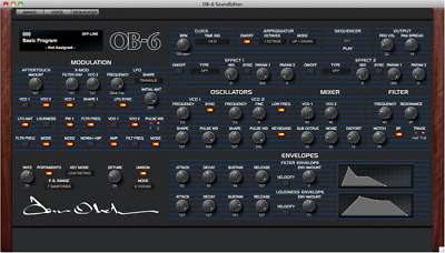 Soundtower Editor For Dave Smith Instruments OB-6