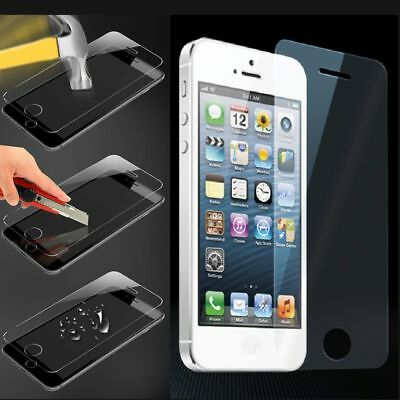 Zoomy Premium 9H Tempered Glass Film Screen Protector Cover for  iPhone 5 5S SE