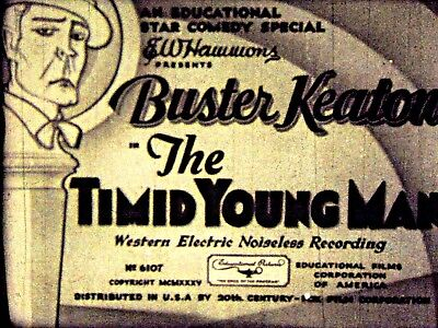 The Timid Youing Man  - 1935 Buster Keaton 16MM Film Comedy Short