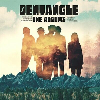 Pentangle - Albums: 1968-1972 [CD New]