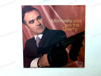 Morrissey - You Are The Quarry UK LP 2004 FOC + Innerbag Numbered Ed #00884 /3