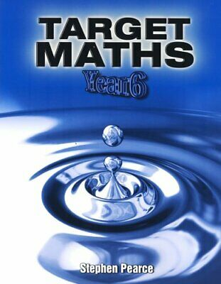 Target Maths: Target Maths Year 6 Year 6 by Pearce, Stephen Paperback Book The