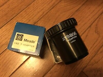 Meade #62 T-Adapter telescope attachment for photography