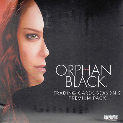2017 Cryptozoic Black Orphan Season 2 Premium Pack SDCC Exclusive SEALED 3 Autos