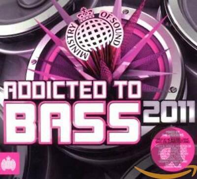 Various Artists - Addicted To Bass 2011 - Various Artists CD 72VG The Cheap Fast