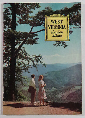 West Virginia Travel Guide Booklet 1950s Vacation Album History State Parks