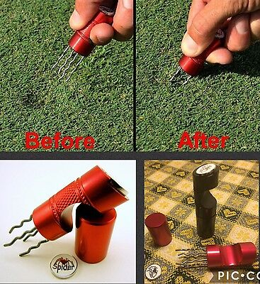 Instagolf Spider Divot Tool Alzapitch Pitch Repairer