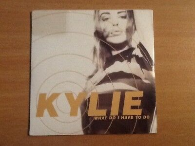 Kylie Minogue What Do I Have To Do Orig Aussie Ltd Edition Pic Cd Single 1991